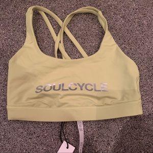 SoulCycle x LuLuLemon NWT sportsbra size 6
